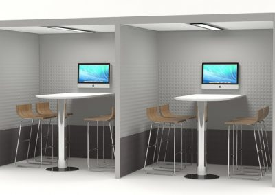 Fg Screens Acoustic Booth