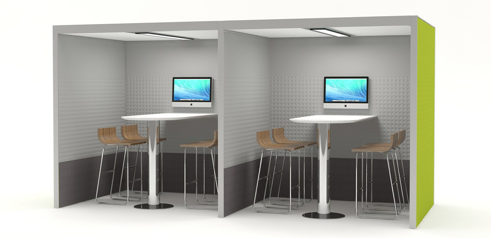 Aspire Office Solutions Acoustic Office Booths