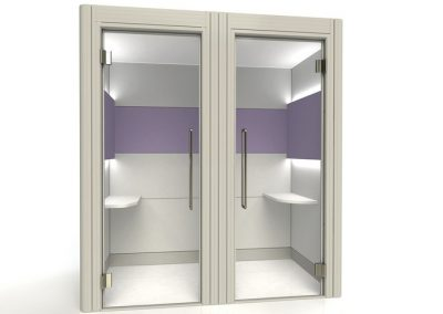 Fg Screens Acoustic Double Booth