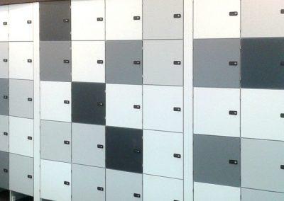 Lockers Panel Plan