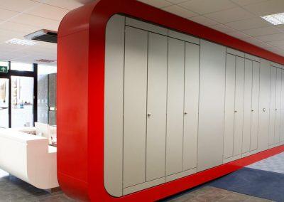 Reception Storagewall