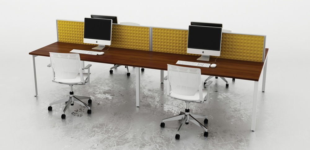 Acoustic Screens – Desk Mounted Screens 1