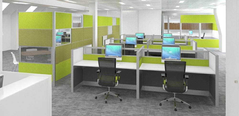 Acoustic Screens – Desk Screens