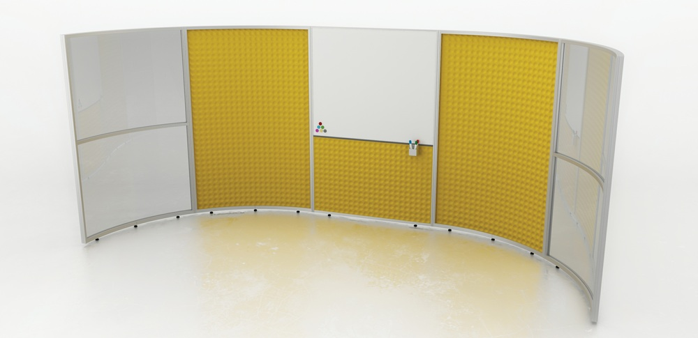 Acoustic Screens – Training Screens 1