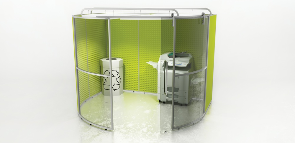 Acoustic Screens – Utility PODs. 1