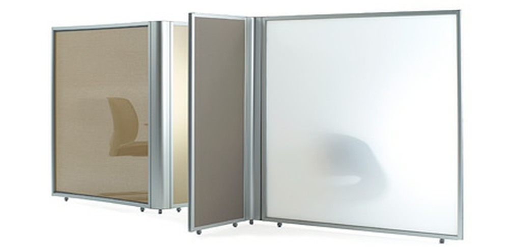 Aspire Office Screens – Free Standing Orangebox Linio 1