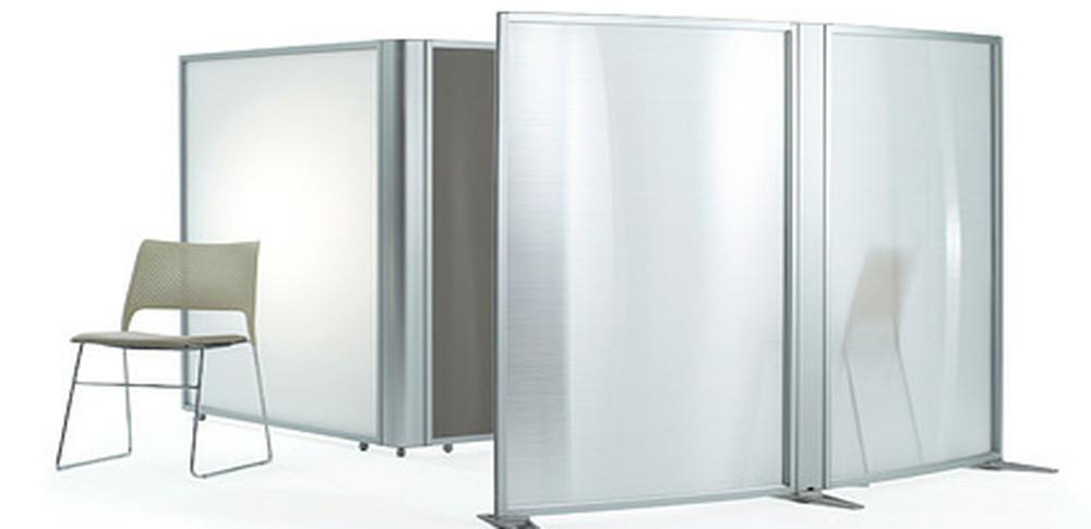 Aspire Office Screens – Free Standing Orangebox Linio 2