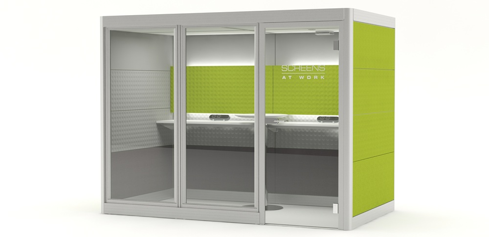 Aspire Office Solutions – Acoustic Booths 3