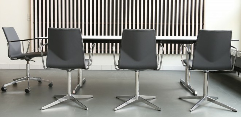 Aspire Office Solutions – Boardroom Seating Four Cast