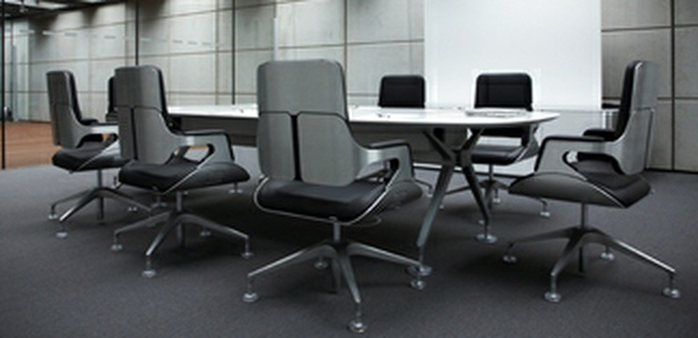 Aspire Office Solutions – Boardroom Seating Silver