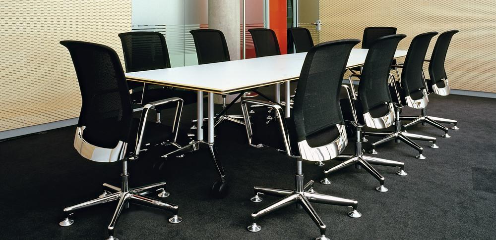 Aspire Office Solutions – Boardroom Seating Xantos