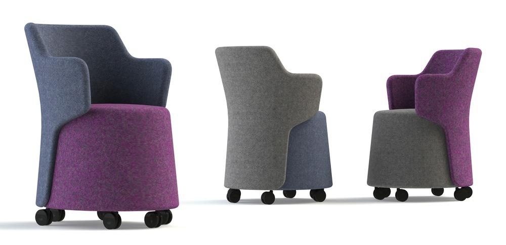 Aspire Office Solutions – Breakout Seating Skomer
