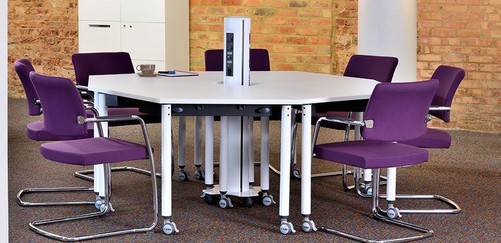 Aspire Office Solutions – Conference Seating Panache