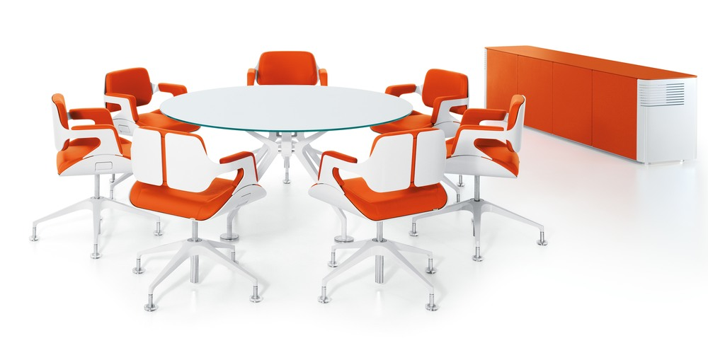 Aspire Office Solutions – Conference Seating Silver
