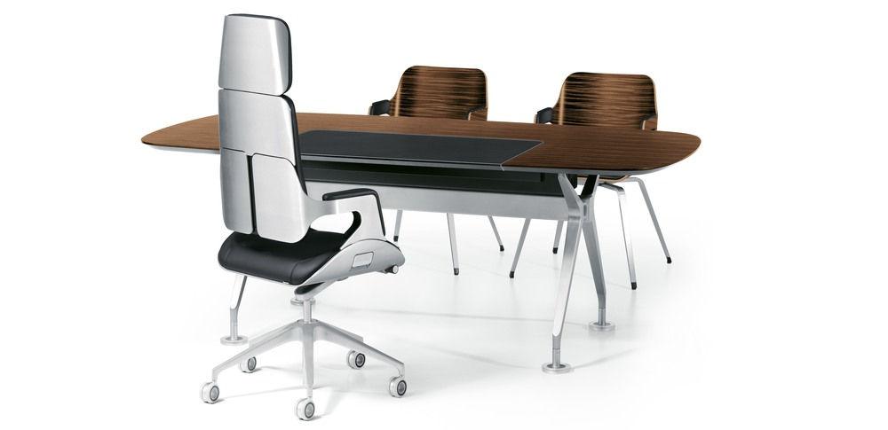 Aspire Office Solutions – Executive Seating Silver 1