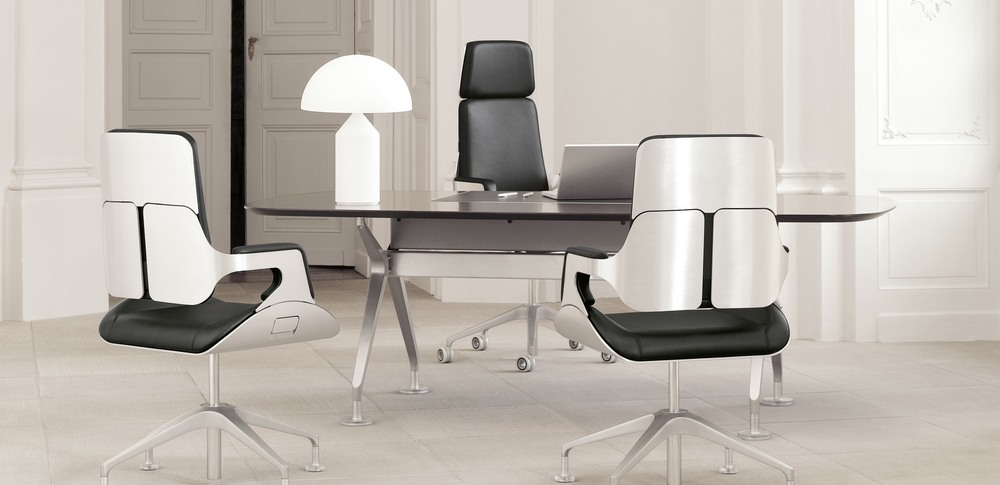 Aspire Office Solutions – Executive Seating Silver 2