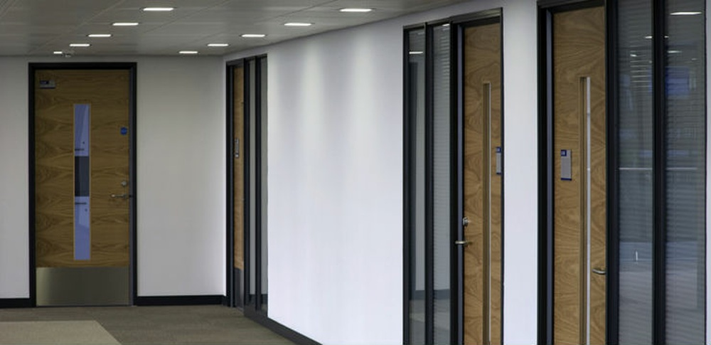 Aspire Office Solutions – Fire Rated Partitioning Komfire 100 1