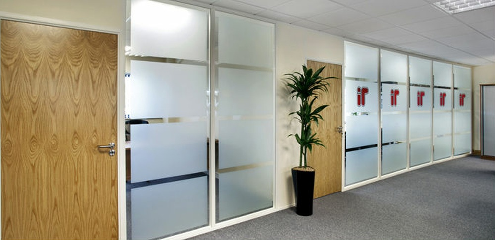 Aspire Office Solutions – Fire Rated Partitioning Komfire 75 3