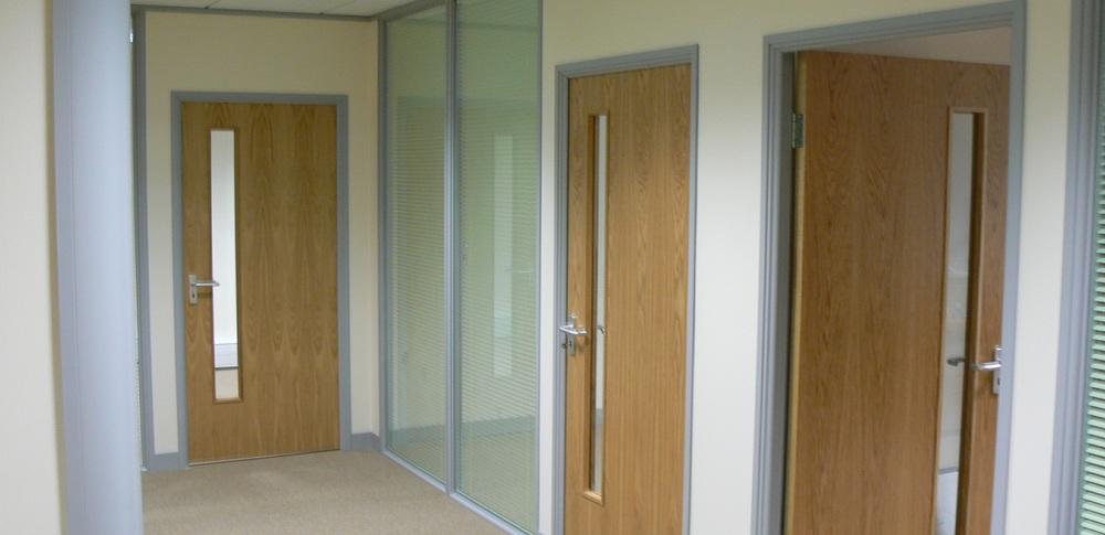 Aspire Office Solutions – Fire Rated Partitioning Prima 75 2