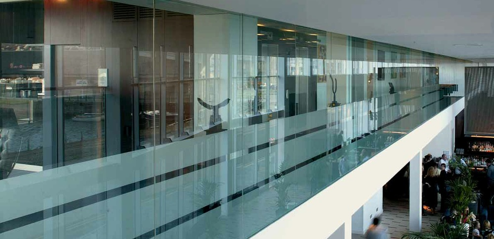 Aspire Office Solutions – Frameless Glass Partitioning Polar Single 3