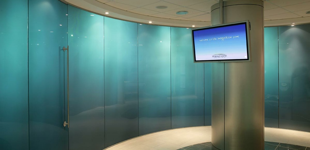 Aspire Office Solutions – Frameless Glass Partitioning System 8000 1