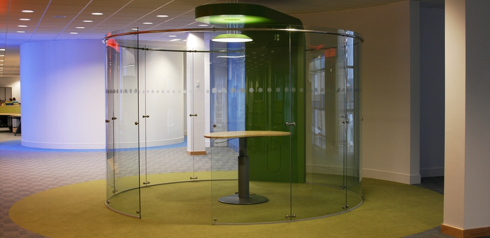 Aspire Office Solutions – Frameless Glass Partitioning System 8500 3