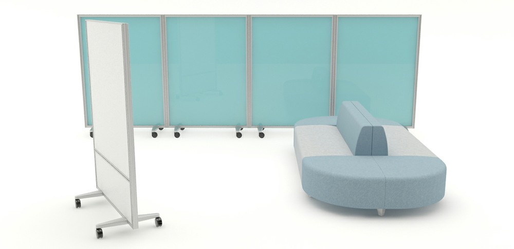 Aspire Office Solutions – Free Standing Screen 4.2. 1