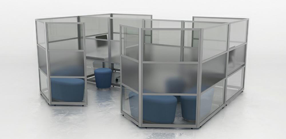 Aspire Office Solutions – Glazed Screen 2.2