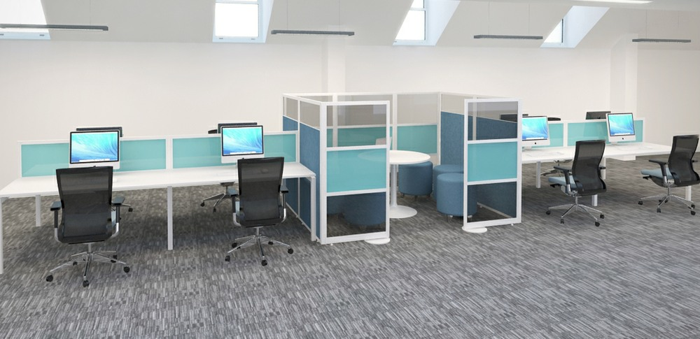 Aspire Office Solutions – Glazed Screen Screens at Work 3.2