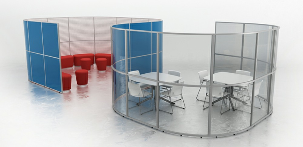 Aspire Office Solutions – Glazed Screen Screens at Work 4.2 Breakout