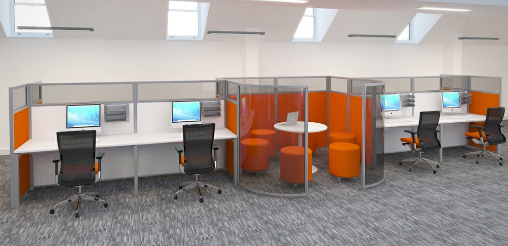 Aspire Office Solutions – Glazed Screen Screens at Work 4.2