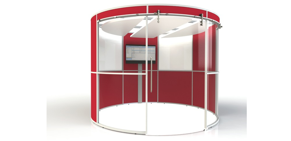 Aspire Office Solutions – Glazed Screen Screens at Work POD 3.0