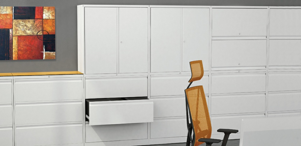 Aspire Office Solutions – Lateral Filing Silverline Classic Combi