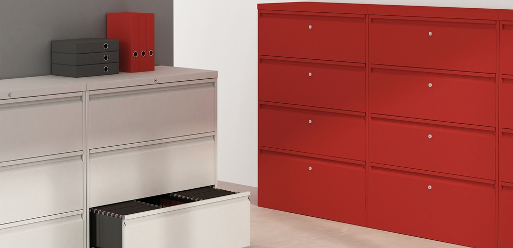 Aspire Office Solutions – Lateral Filing Silverline Classic Milne