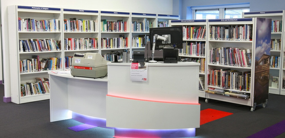 Aspire Office Solutions – Library Furniture Frem 1