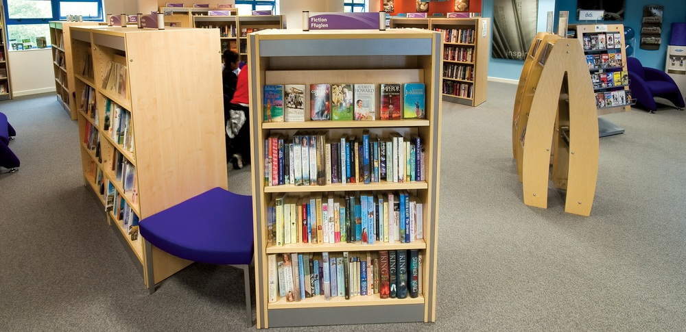 Aspire Office Solutions – Library Furniture Frem Calypso 1
