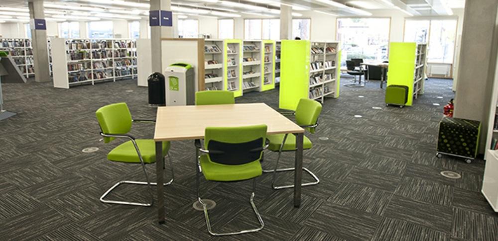 Aspire Office Solutions – Library Furniture Frem Uniflex 1