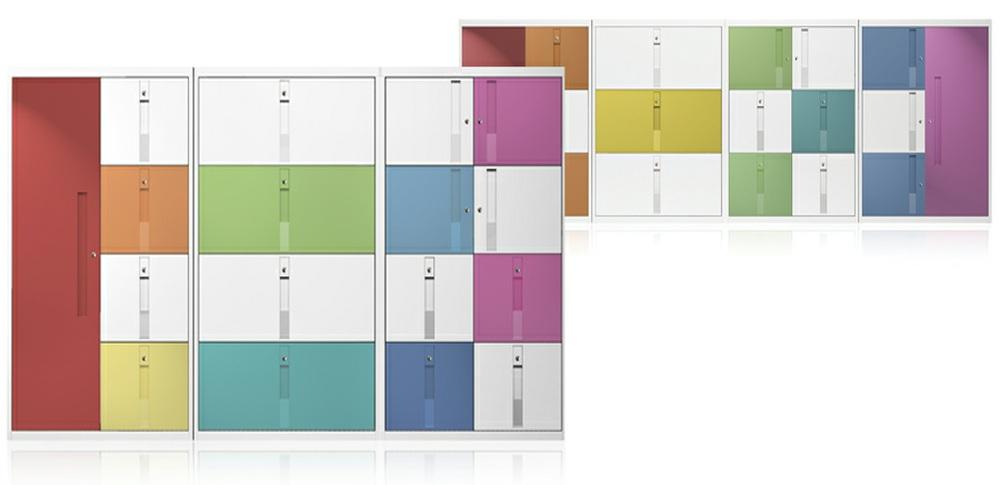 Aspire Office Solutions – Lockers Silverline HD