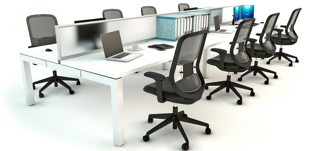 Aspire Office Solutions – Mesh Seating Do