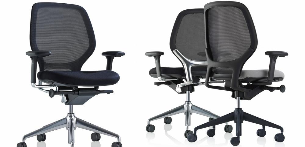 Aspire Office Solutions – Mesh Seating Orangebox Ara