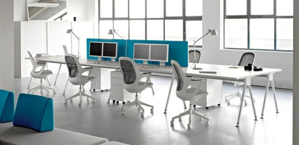 Aspire Office Solutions – Mesh Seating Salt n Pepper 1