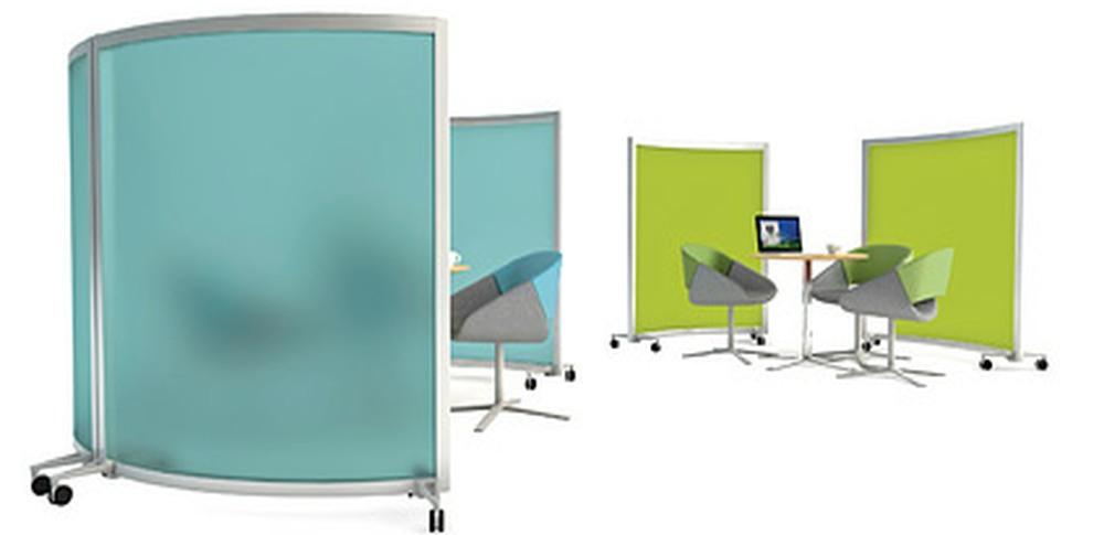 Aspire Office Solutions – Mobile Screens Orangebox Bay 2