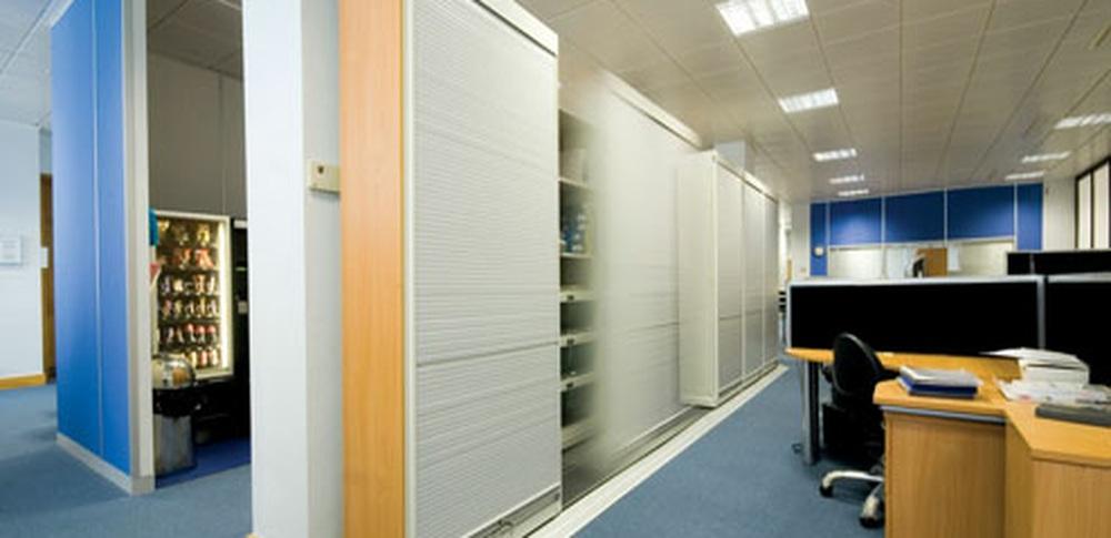 Aspire Office Solutions – Mobile Storage Slide a Side
