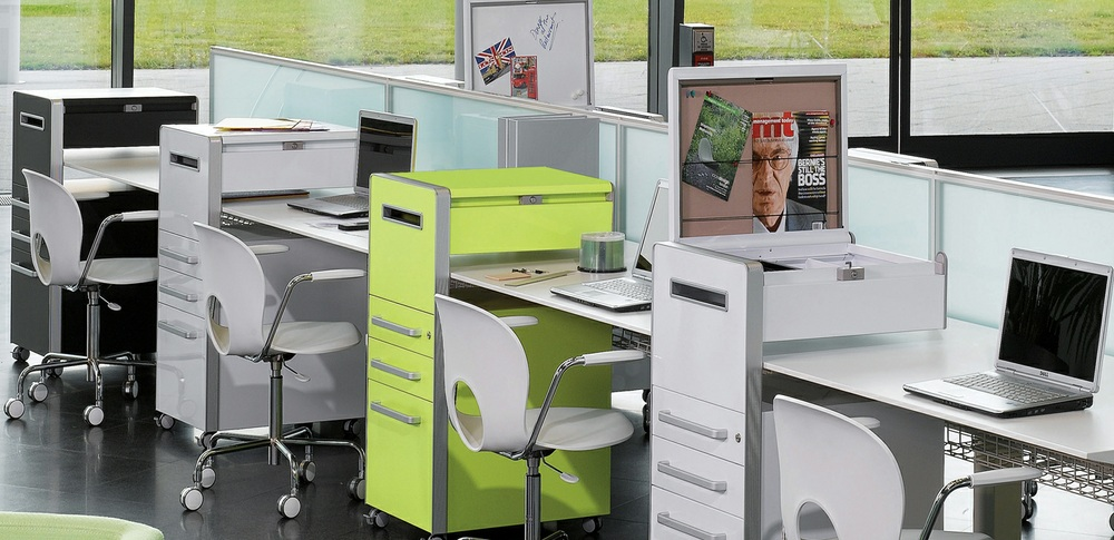 Aspire Office Solutions – Personal Storage Bisley Bite