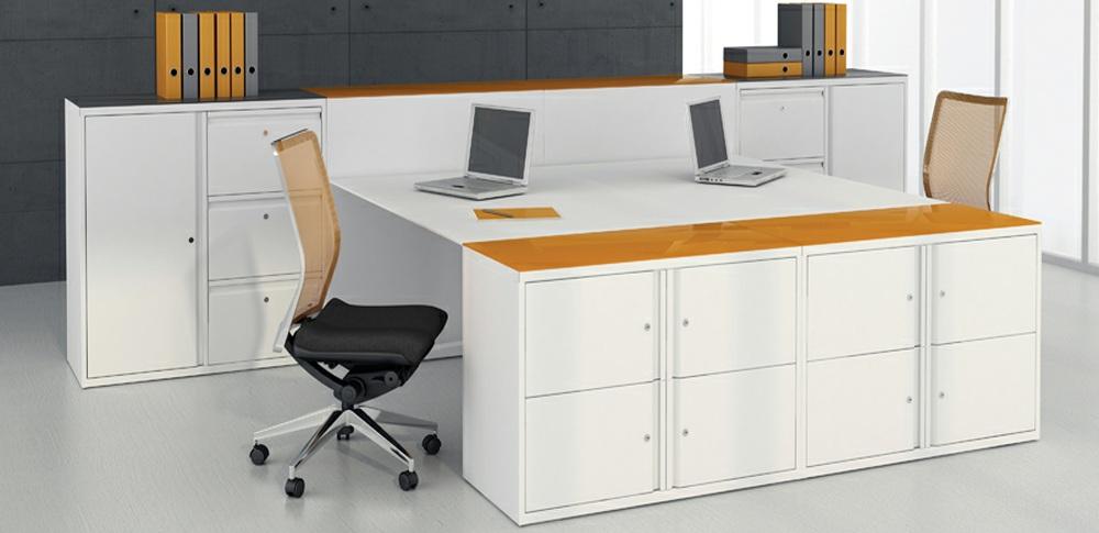 Aspire Office Solutions – Personal Storage Silverline Swan Neck