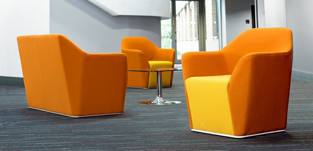 Aspire Office Solutions – Reception Seating Chamfer