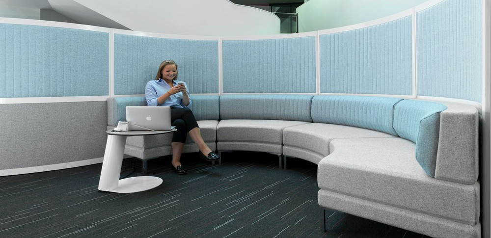 Aspire Office Solutions – Reception Seating HenRay