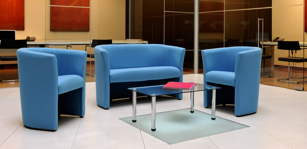 Aspire Office Solutions – Reception Seating Klub