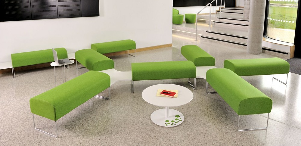 Aspire Office Solutions – Reception Seating Touch