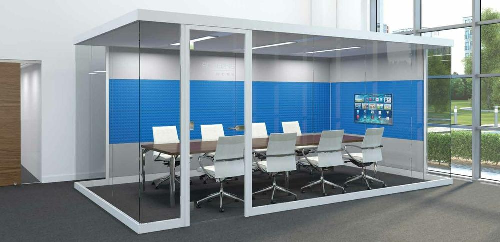Aspire Office Solutons Glazed Screen 5.2 Glazed POD